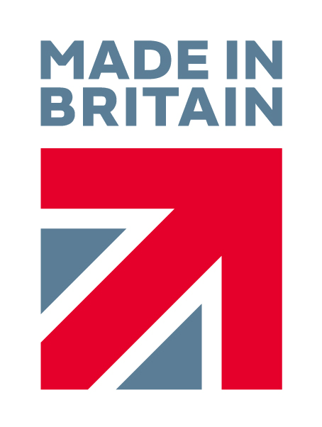 Made in Britain logo for button-fix